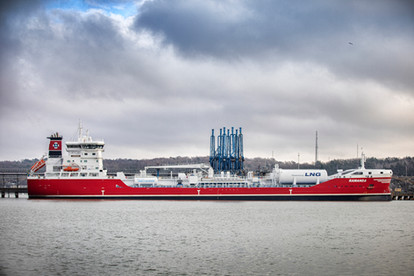 Ramanda in Port of Gothenburg