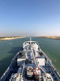 Ramanda in the Suez canal