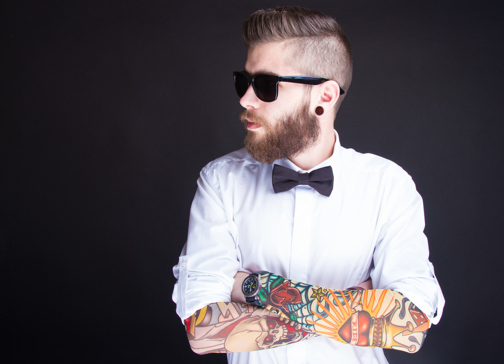 Fashionable Hipster