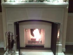 Burning Ahren Fire Installation