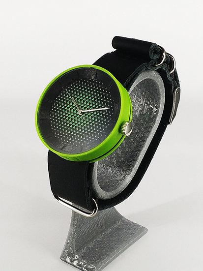 ViselDesign Watch Black&Lime