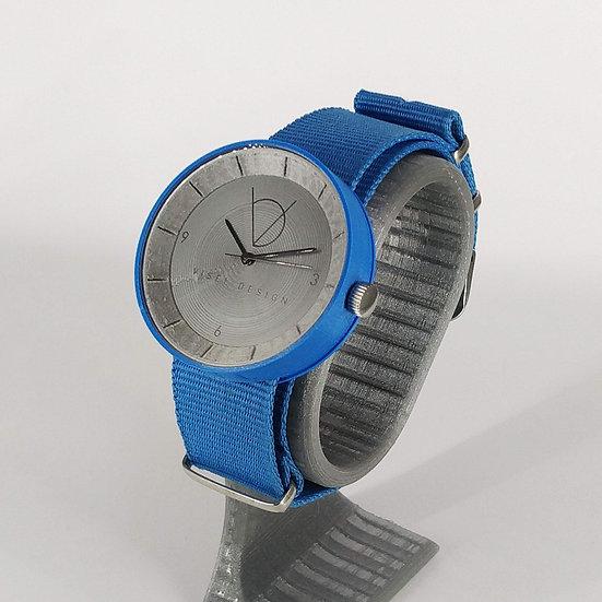 ViselDesign Watch Blue&Silver