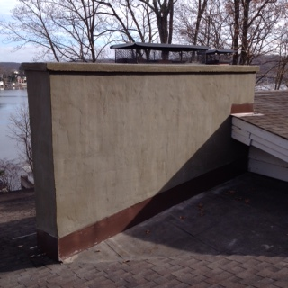 Becker Hopatcong exterior rebuild with stucco