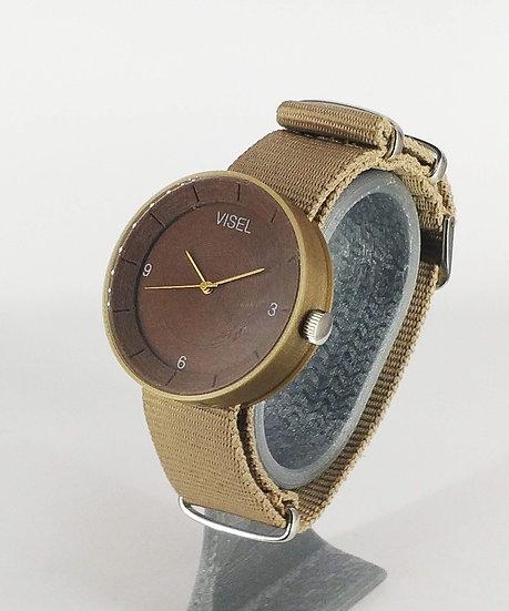 ViselDesign Watch Brown&Bronze