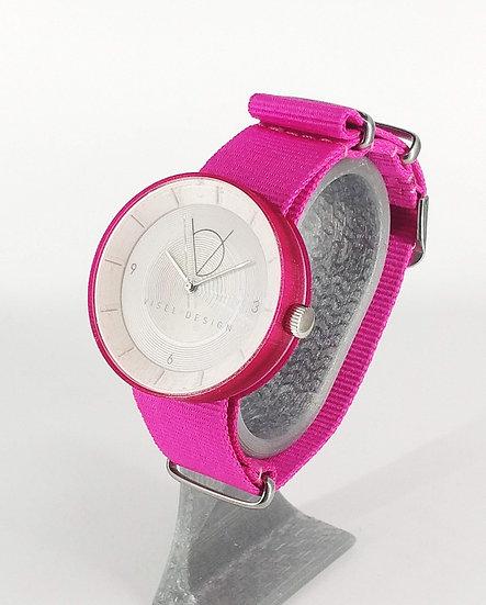 ViselDesign Watch Cyclamen&White watch