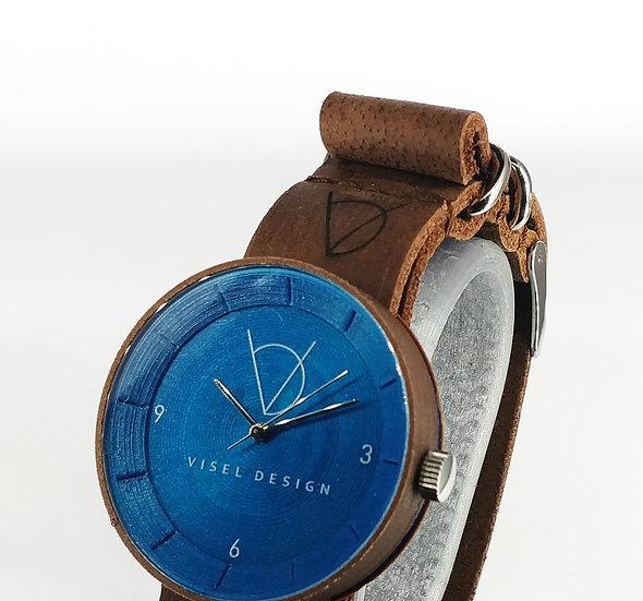 ViselDesign Watch CoconutWoodPLA&Blue