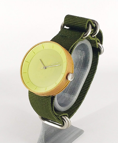 ViselDesign Watch Wood&Pistachio