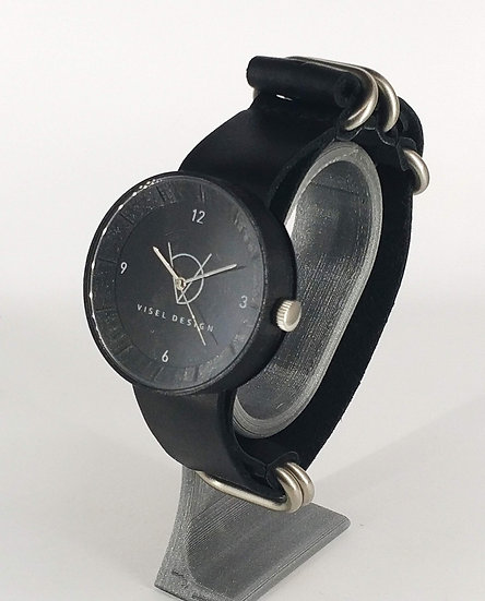 ViselDesign Full Black watch 120 EUR