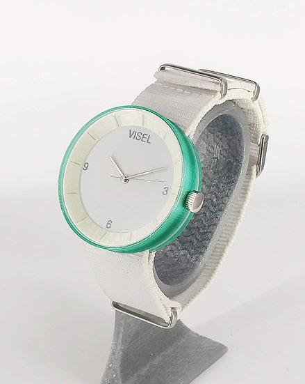 ViselDesign Watch Green&White