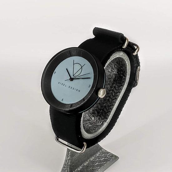 ViselDesign Watch Black&Blue watch
