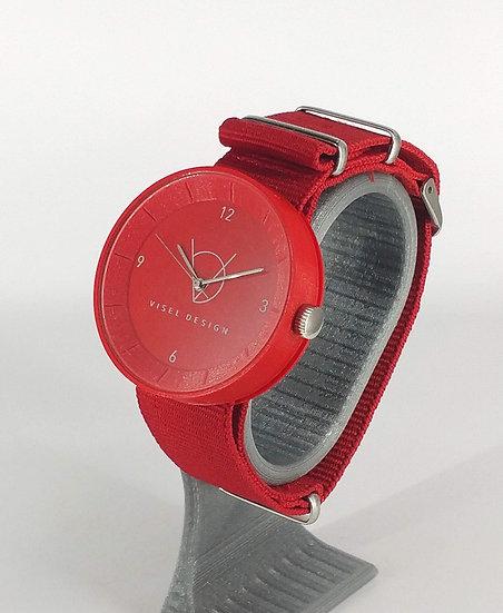 ViselDesign Watch Red