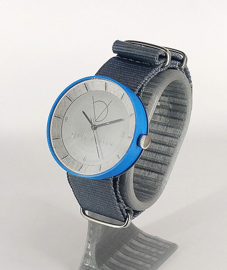 ViselDesign Watch Silver&Blue