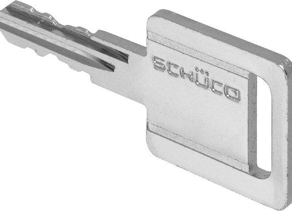Bijmaken Schüco sleutel (Security Card)