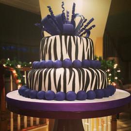 _Zebra_ Sweet 16 Cake