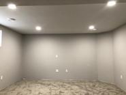 Pot Light Installation in New Basement