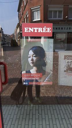 フランス レンヌの街角