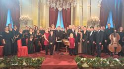 ベルギー王宮 クリスマスコンサート