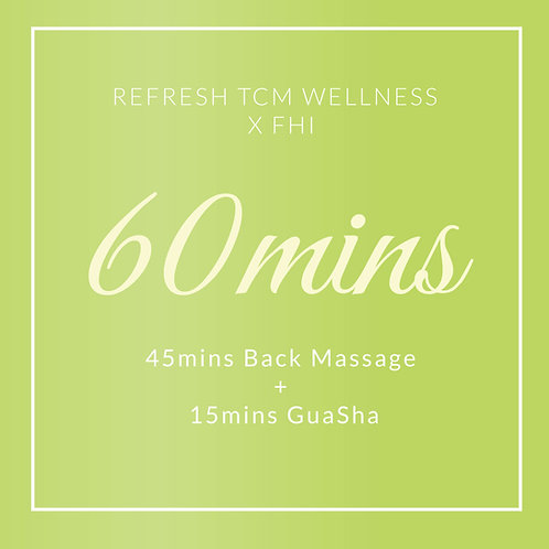 Refresh TCM Body Treatment