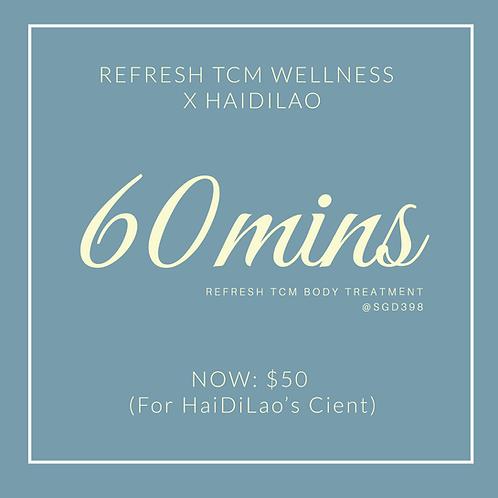 Refresh TCM Body Treatment 60 mins