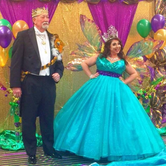 2017 King Alan & Queen Amanda