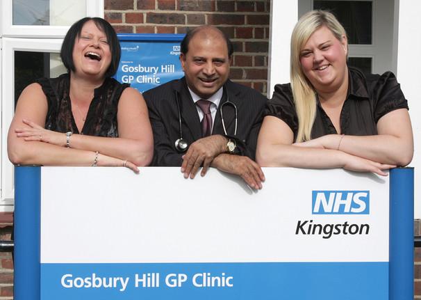 Gosbury Hill Clinic staff members