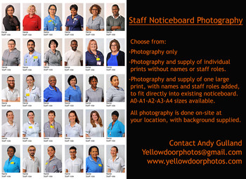 Staff Notice Board photography