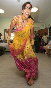 Bollywood dancinging for older adults at Hillingdon