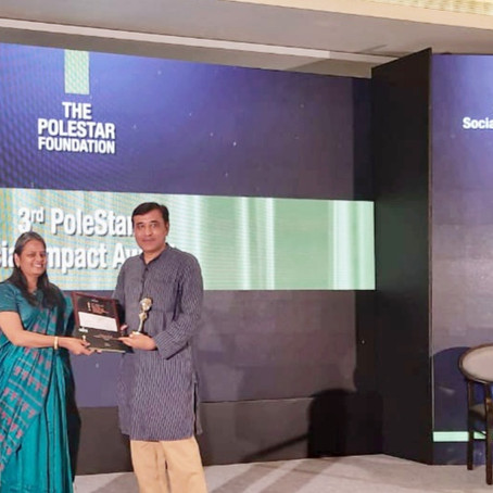 "Ibtada wins PoleStar Award for ""Best Social Impact in Empowerment"" 2019"