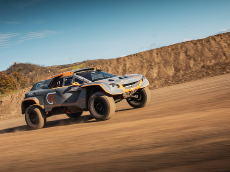 GCK MOTORSPORT LAUNCH HYDROGEN-POWERED VISION AND ANNOUNCE THE GCK E-BLAST 1 DAKAR VEHICLE