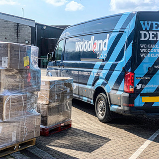 Woodland deliver PPE logistics and support
