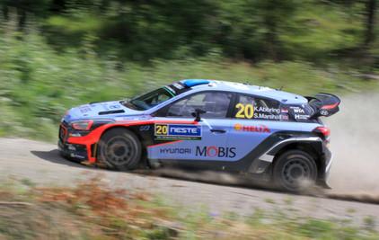 2016 WRC WITH HYUNDAI MOTORSPORT