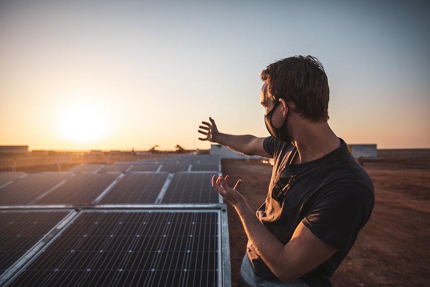 Dakar-2021 - Kevin Abbring and solar pan