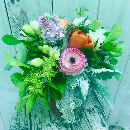 Pastel Mix in a Vase