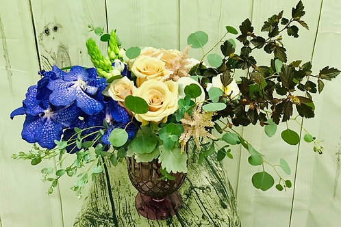 Vanda Orchids and Roses