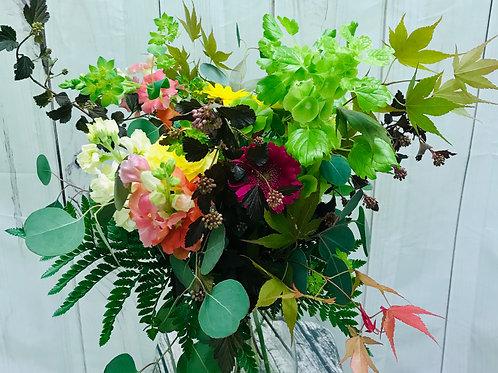 Deep Jewel Tones Bouquet