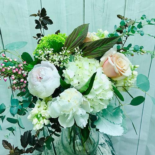 Soft Neutrals in a vase