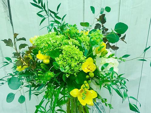 Garden Yellows and  Greens Bouquet