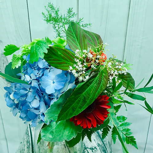 Simple Jewel Tone Bouquet