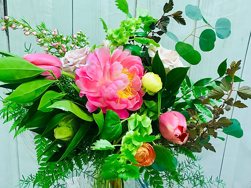 Sunset tones Bouquet