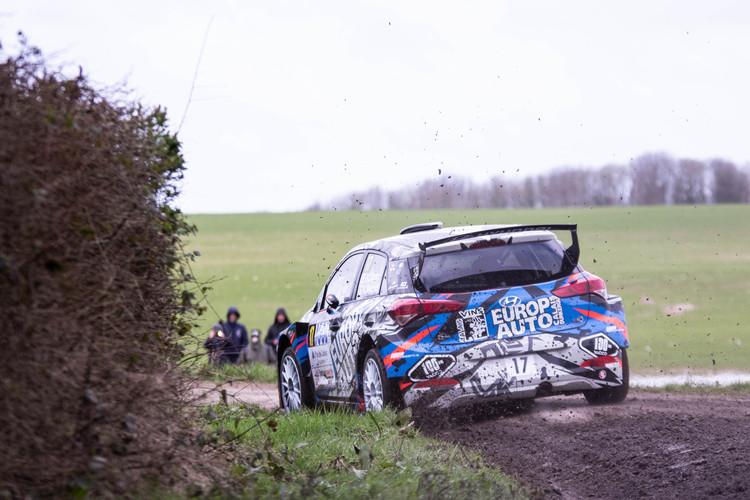 Rallye du Touquet 2020, Quentin Giordano