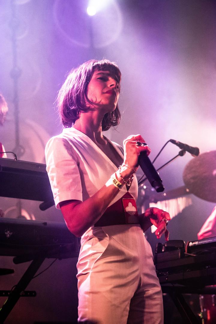 Concert L'Impératrice, Le Grand Mix, Flore Benguigui, 2020