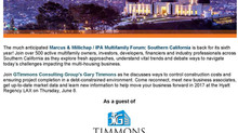 Join Timmons Consulting in California!