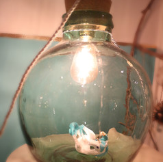 Unicorn in bottle