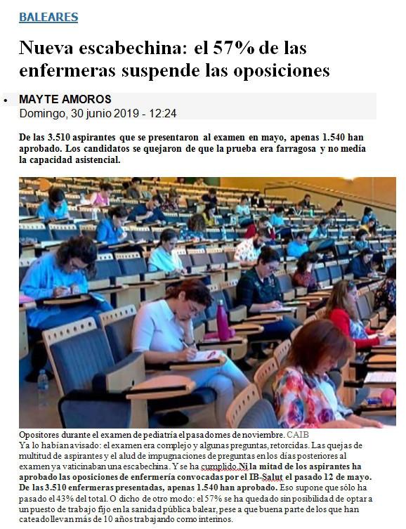 Oposiciones Valencia, Oposiciones IMAS