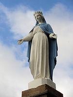 Bénédiction Vierge de St Vallerin 2.JPG