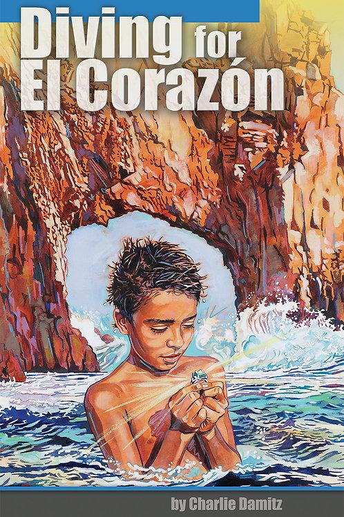 Diving for El  Corazón by Charlie Damitz