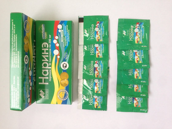Наринэ, 1 упаковка  10 пакетиков по 200 мг
