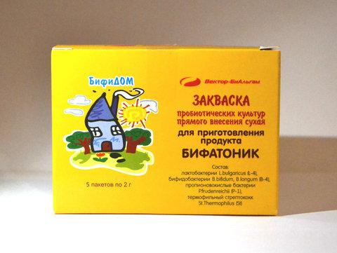 Бифатоник ТМ БифиДом (Россия)