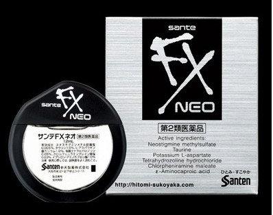 Sante FX Neo, глазные капли освежающие и увлажн.