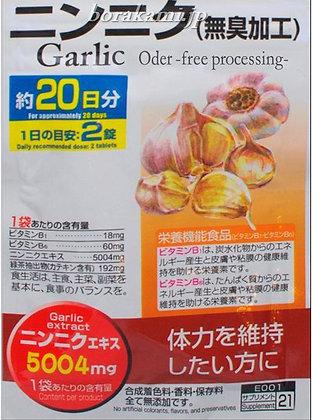 Garlic-чеснок
